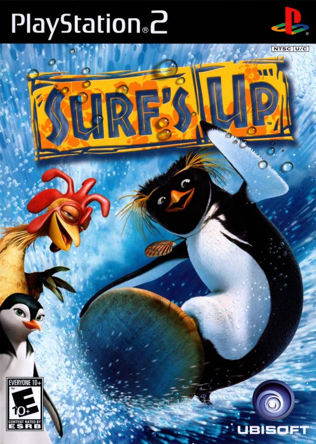surfs up sony playstation 2 game