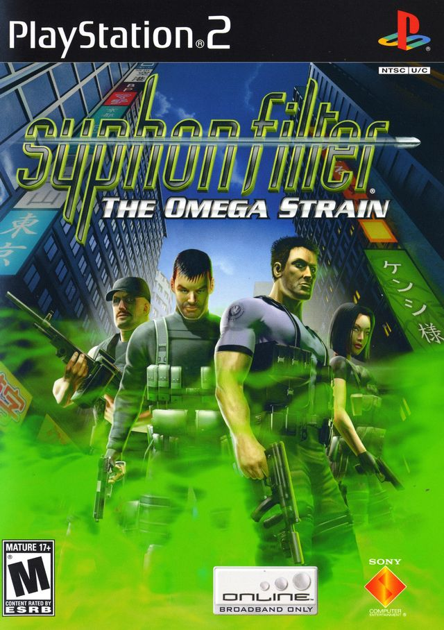 Syphon Filter Omega Strain Sony Playstation 2 Game