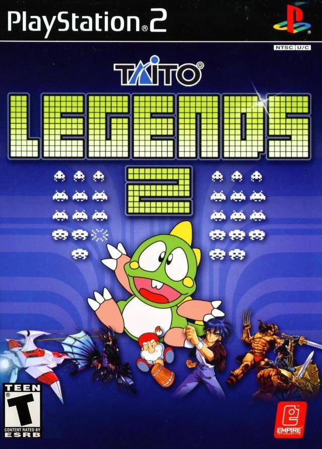 Taito Legends 2 Sony Playstation 2 Game