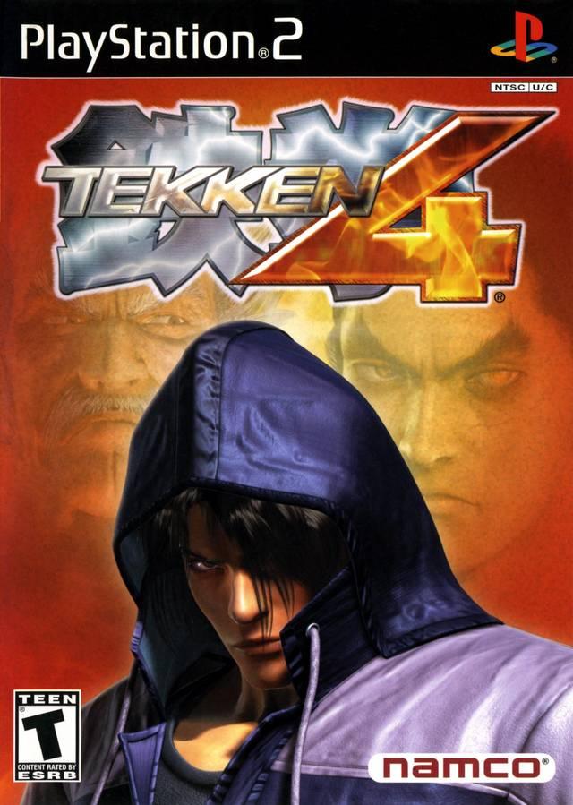 Tekken 4 Sony Playstation 2 Game