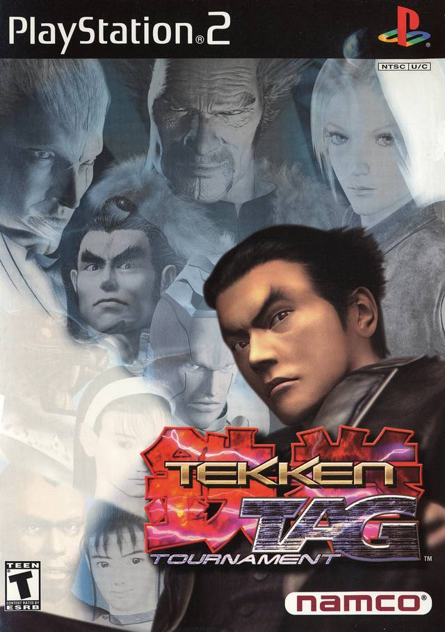 Tekken Tag Tournament Sony Playstation 2 Game