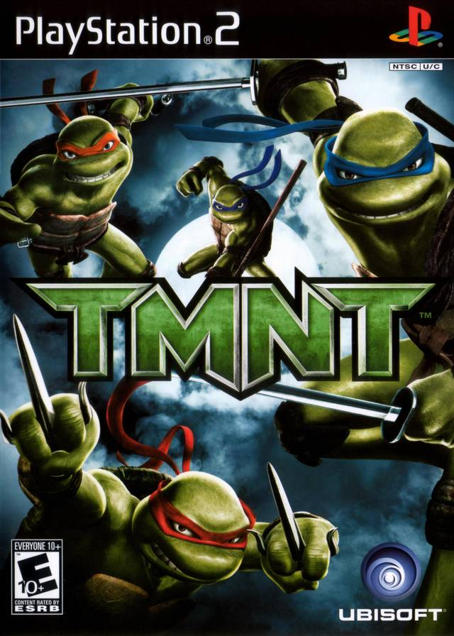 TMNT Sony Playstation 2 Game