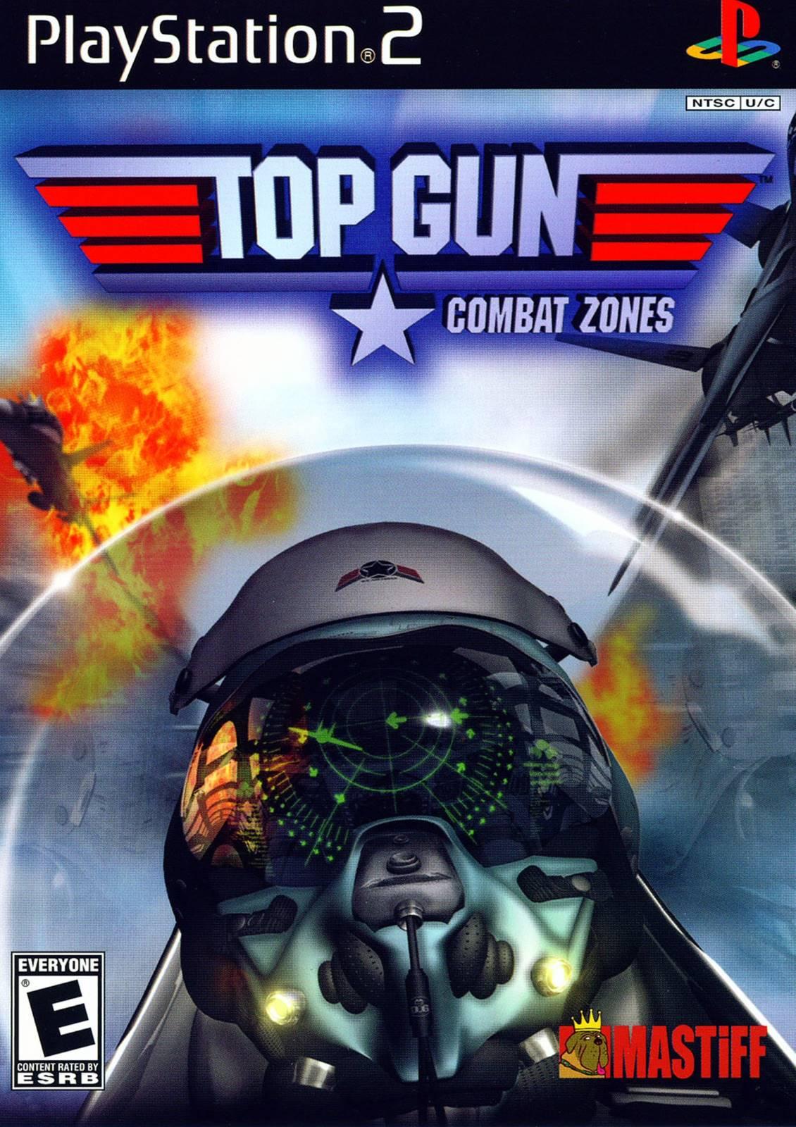 Top Gun Combat Zones Sony Playstation 2 Game