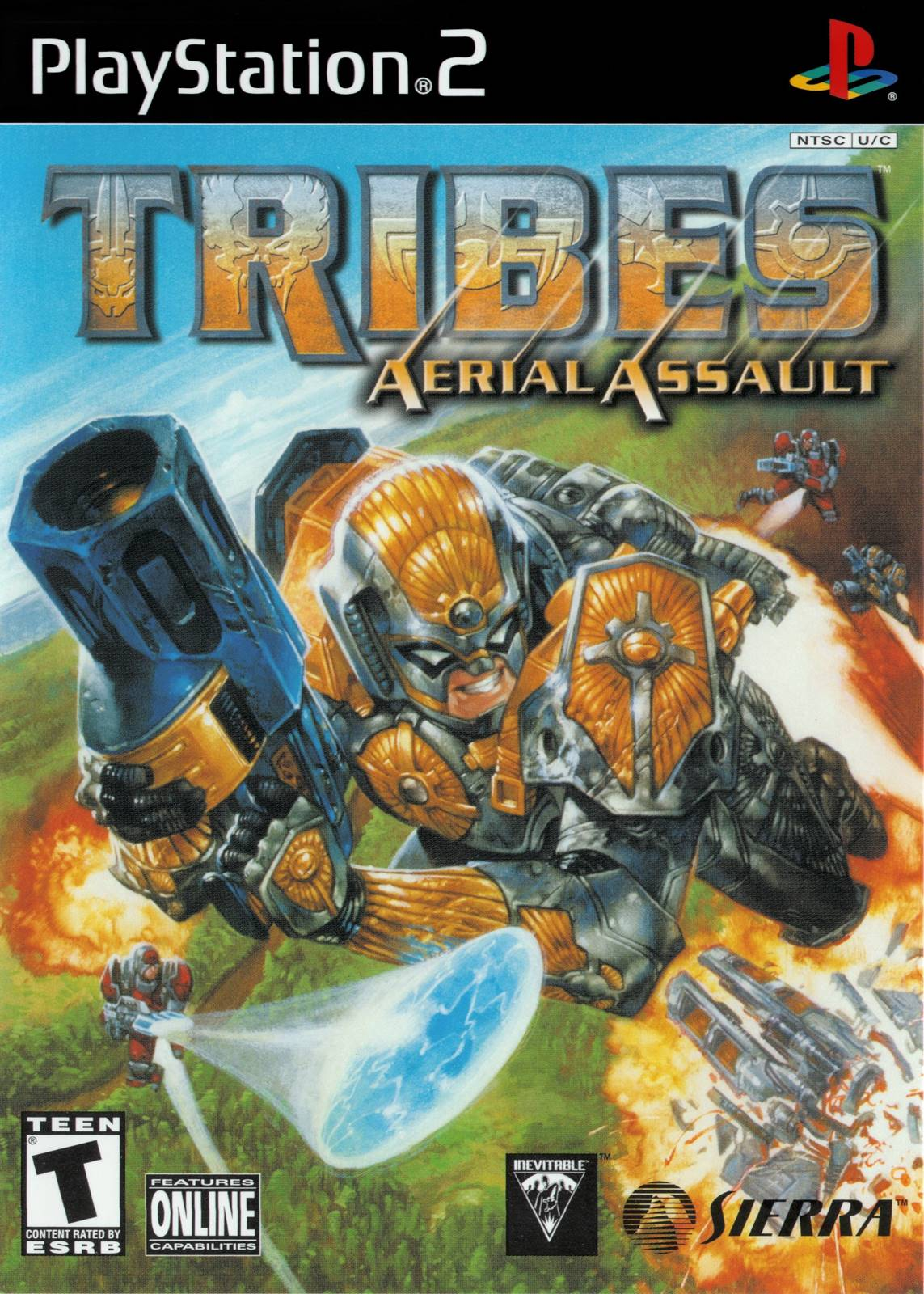 TRIBES Aerial Assault Sony Playstation 2 Game