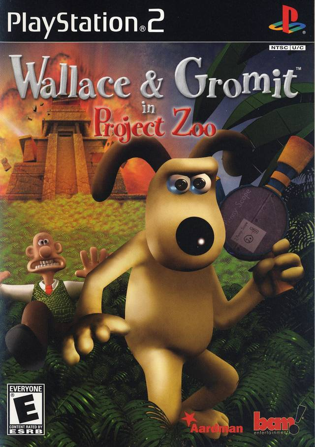 Gromit Project Zoo Sony Playstation 2