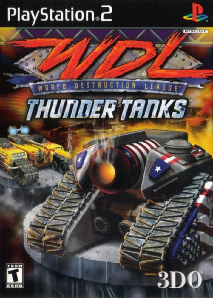WDL Thunder Tanks Sony Playstation 2 Game