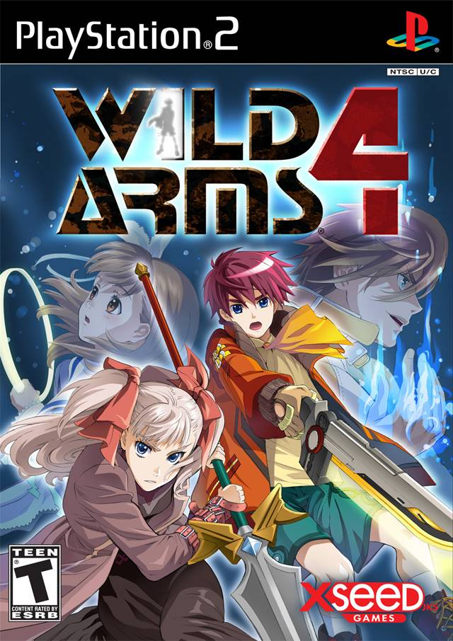 Wild Arms 4 Sony Playstation 2 Game