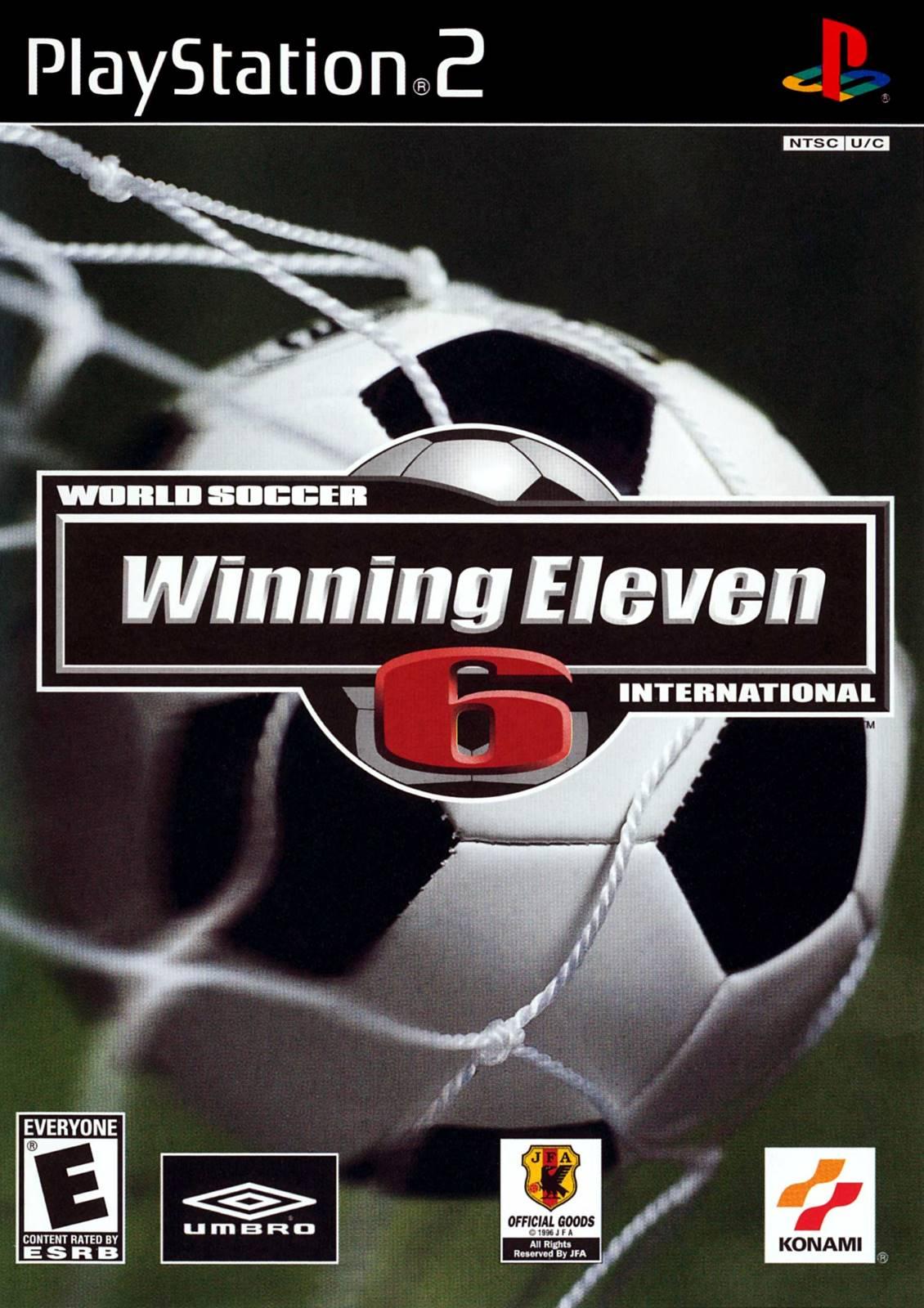 winning eleven  sony playstation  game