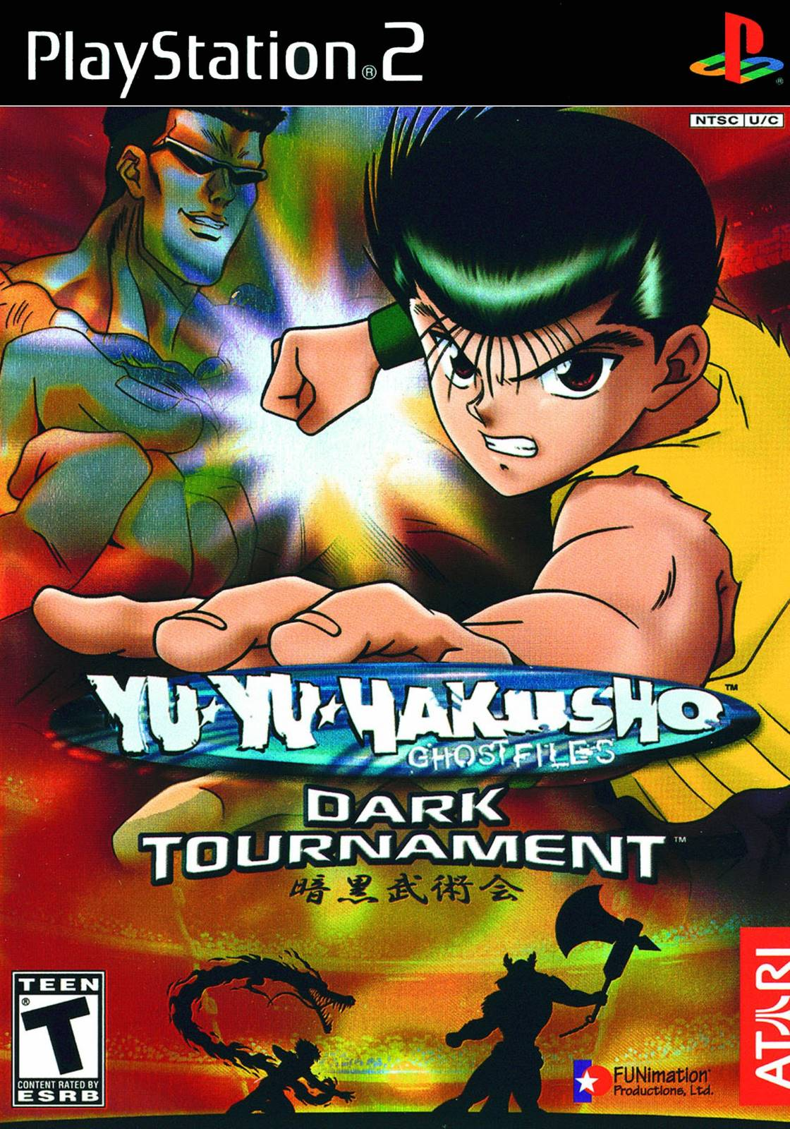 Yu Yu Hakusho Dark Tournament Sony Playstation 2 Game