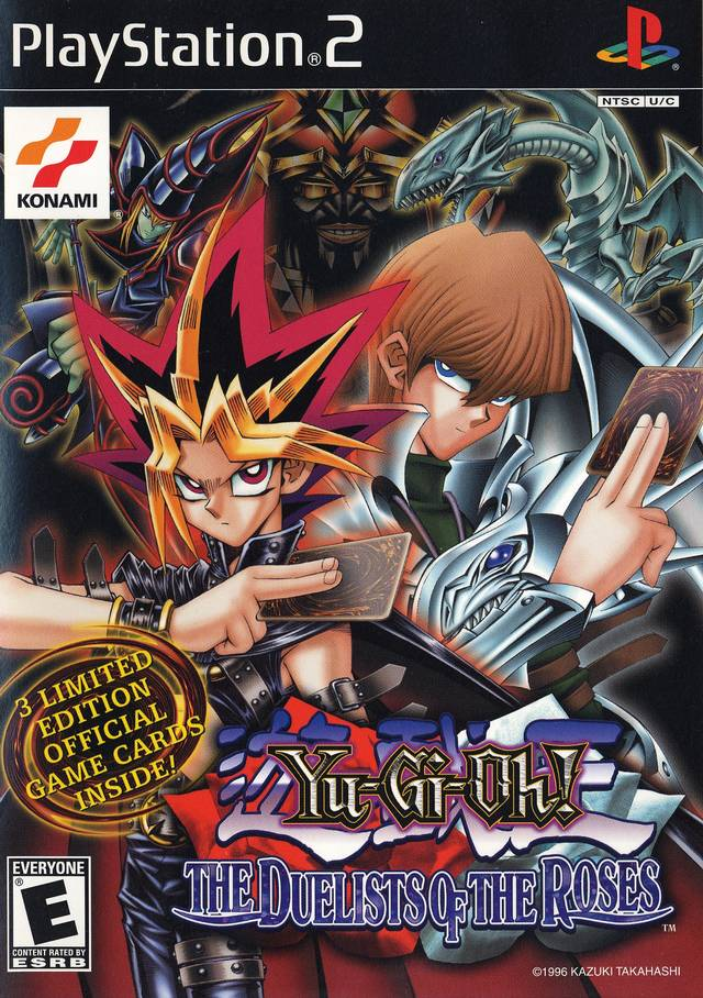 yu gi oh duelists of the roses sony playstation 2 game