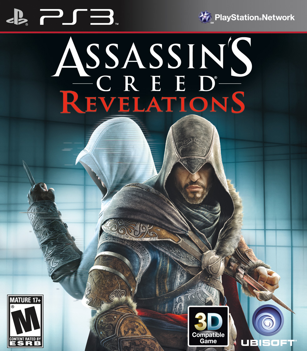 Kết quả hình ảnh cho Assassin's Creed: Revelations cover ps3