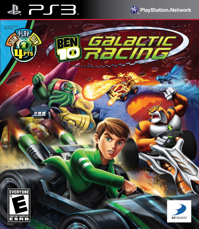 Ben 10 Galactic Racing Playstation 3 Game