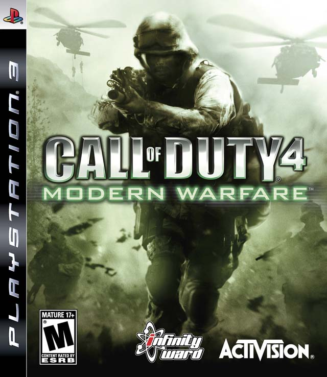 ps2 call of duty 4