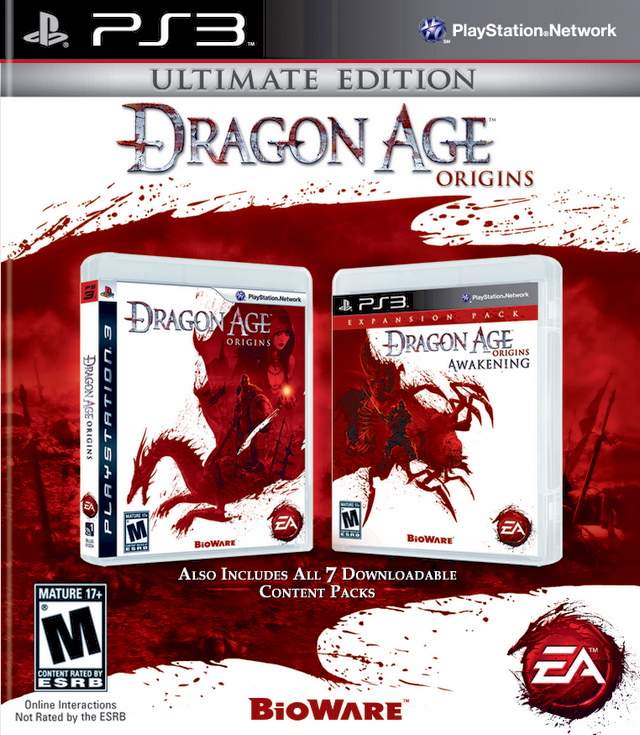 Dragon age origins ultimate edition para ps3 3djuegos.