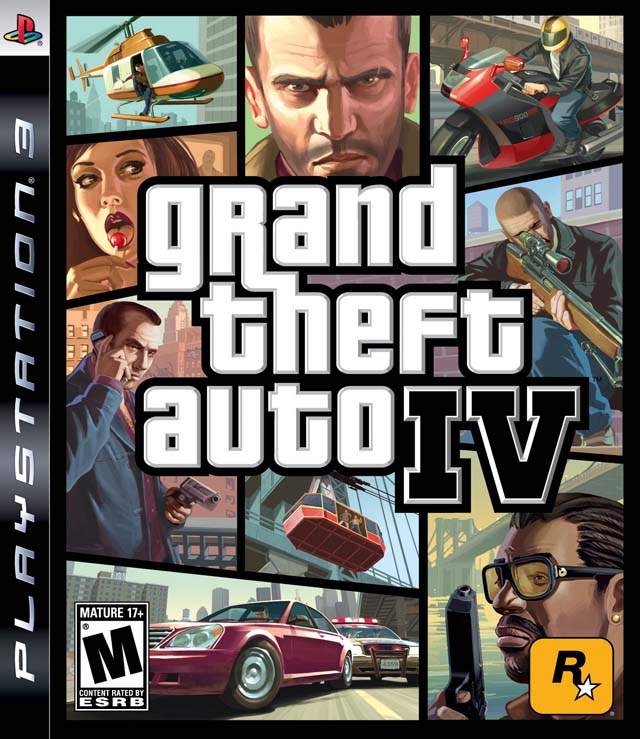 Grand Theft Auto On Vita : Grand theft auto iv playstation game