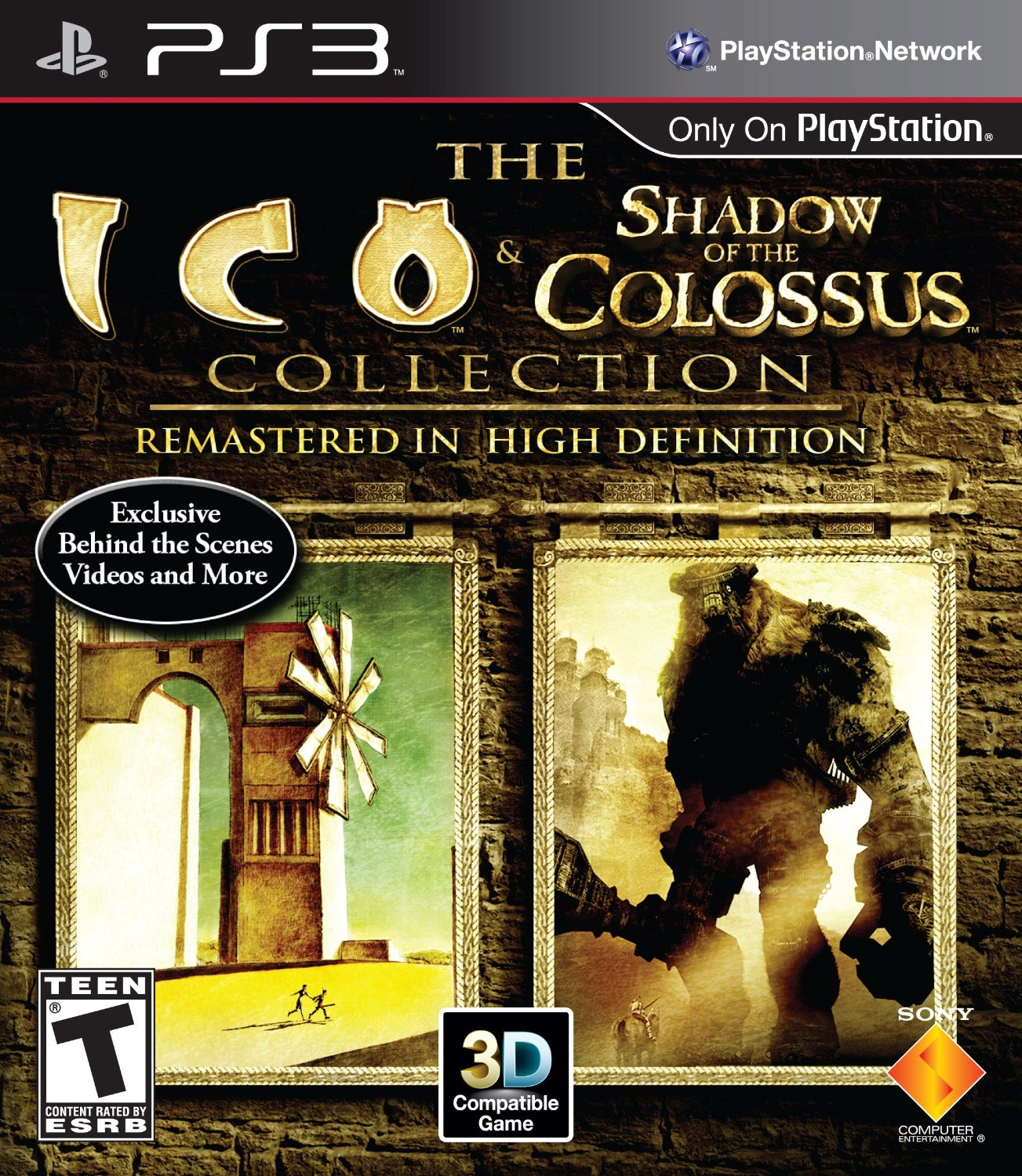 Ico & Shadow of the Colossus Collection Playstation 3 Game