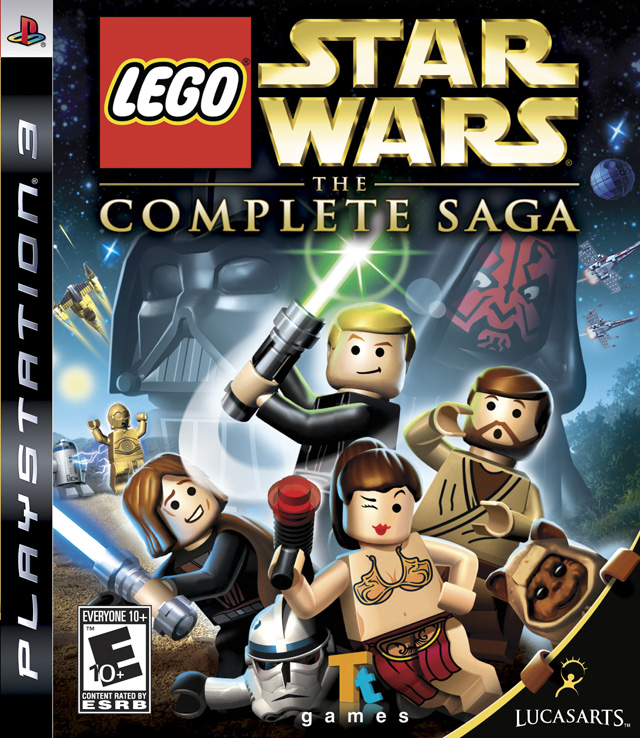 lego star wars complete saga playstation 3 game