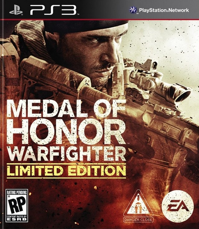 Medal Of Honor Warfighter Limited Edition Playstation 3 Game