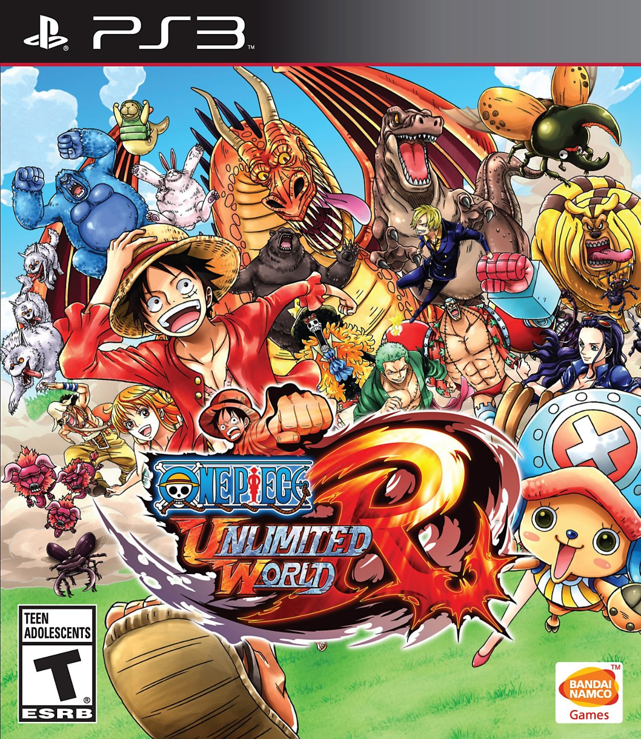 One Piece Unlimited World Red Playstation 3 Game