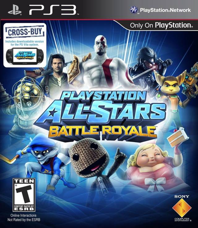 All-Stars Battle Royale Playstation 3 Game