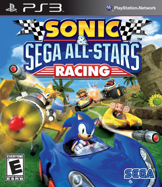 All Playstation 3 Games : Sonic sega all stars racing playstation game
