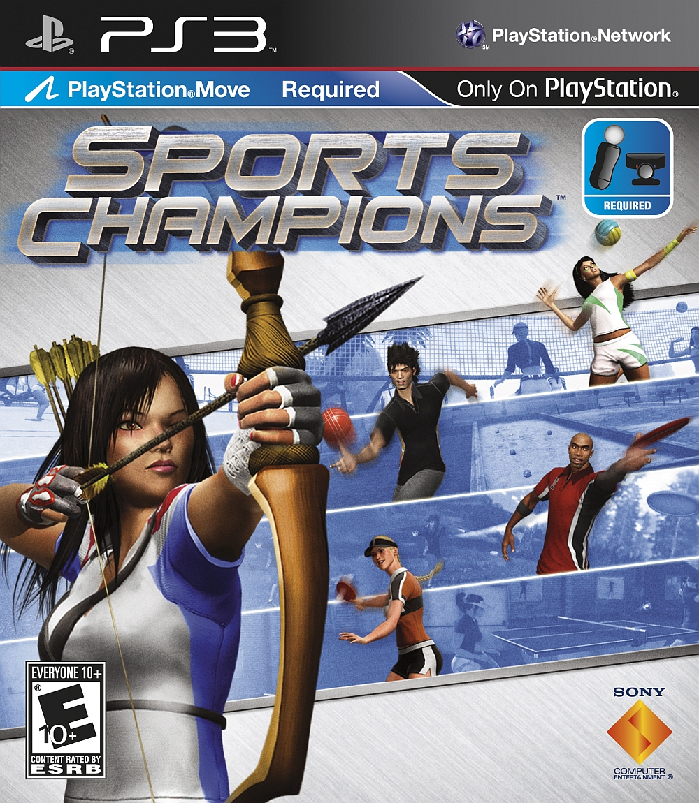 Sports Games For Ps3 : Sports champions playstation game