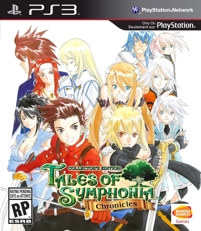 Kết quả hình ảnh cho Tales of Symphonia cover ps3