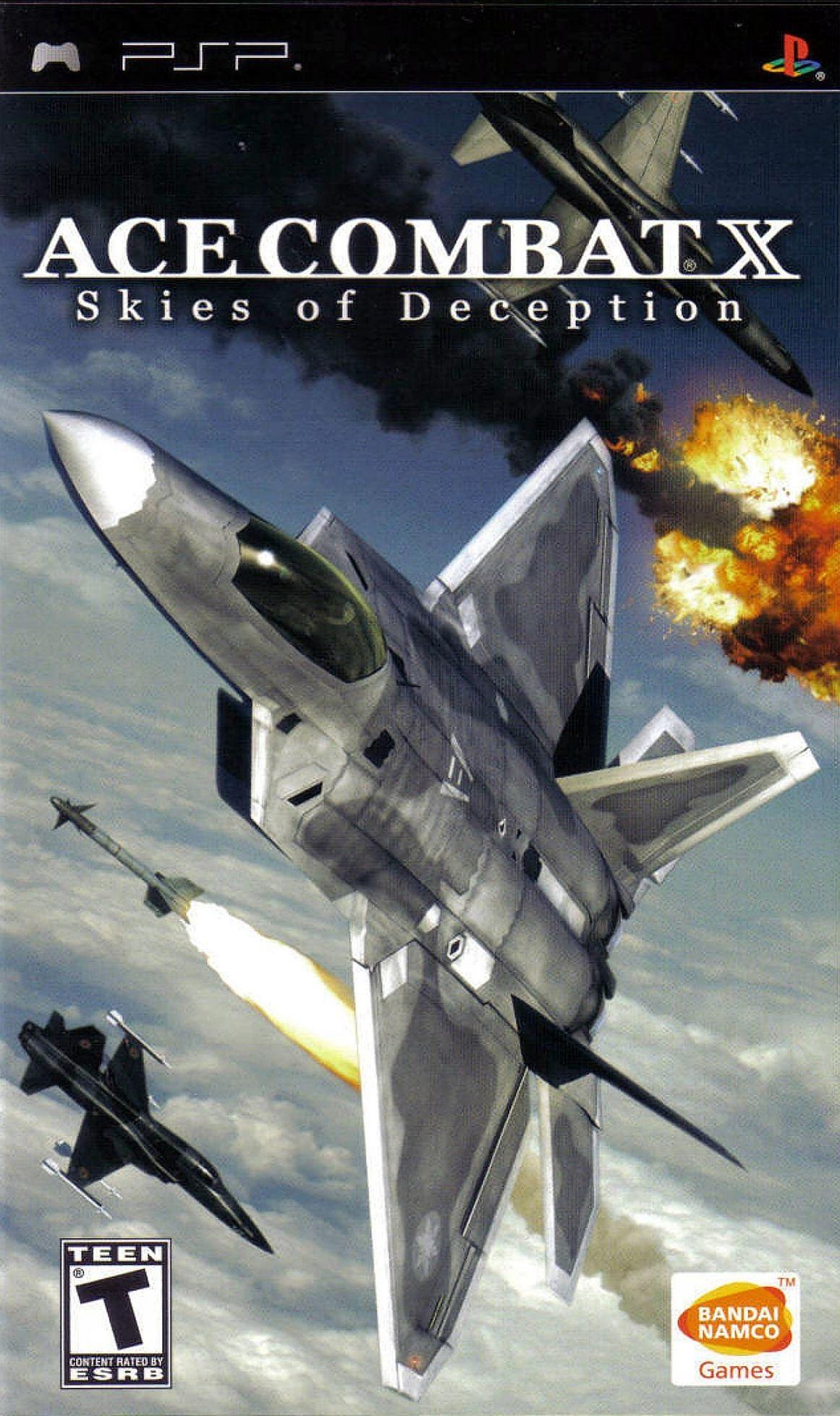 Ace combat x skies of dec psp cso