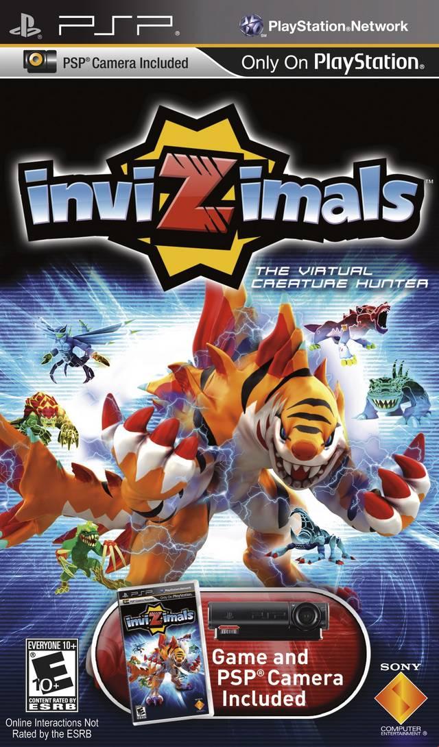 Invizimals PSP Game