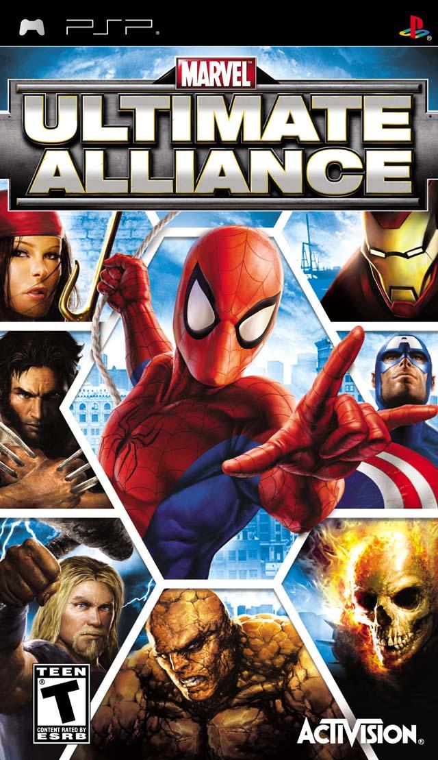 Marvel Ultimate Alliance PSP Game