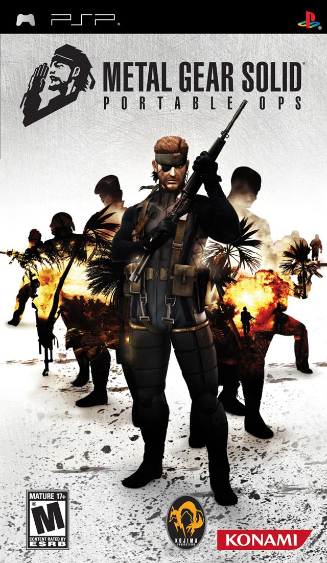 Metal gear solid peace walker ™ psp video game gamesplus.