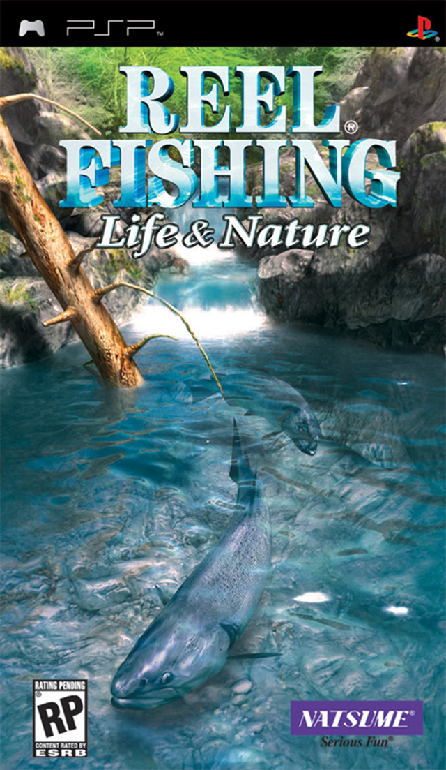Reel fishing the great outdoors psp game for Reel fishing game
