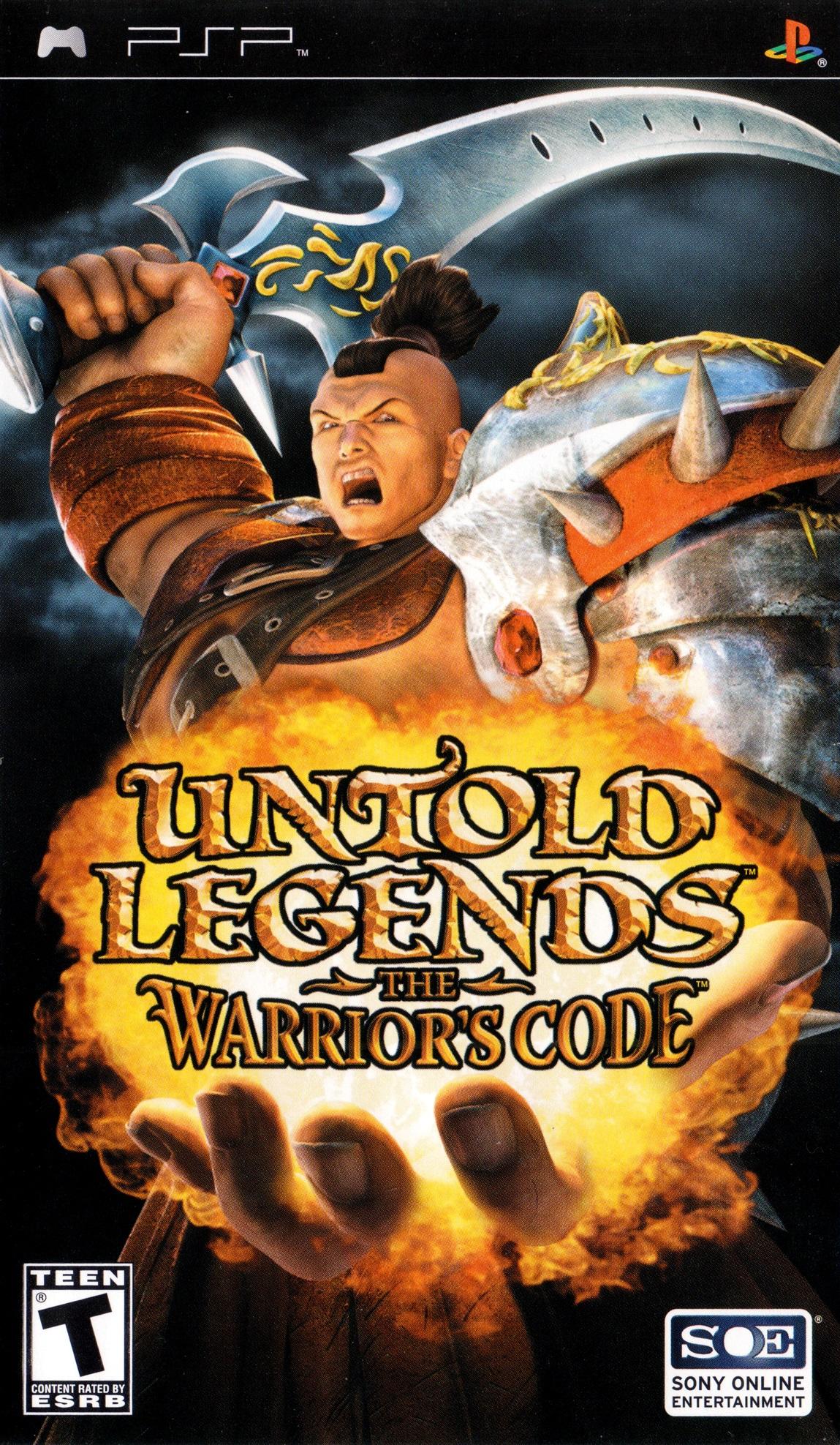Untold Legends The Warrior's Code PSP Game