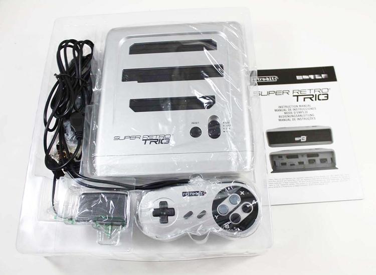New Super Retro Trio Sr3 Silver And Black System