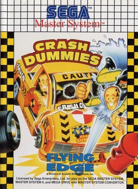 The incredible crash dummies sega master system game used - Sega master system console for sale ...