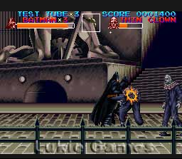 Batman Returns Snes Super Nintendo