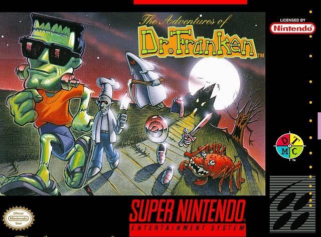 Adventures Of Dr Franken Snes Super Nintendo