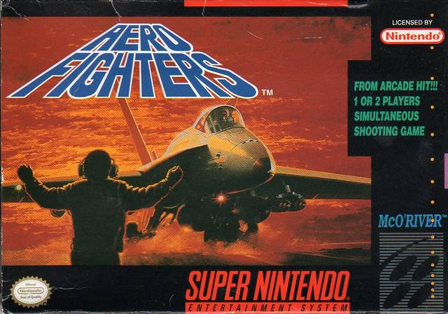 Aero Fighters aka Sonic Wings SNES Super Nintendo