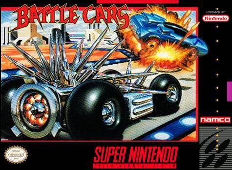 Battle Cars Snes Super Nintendo