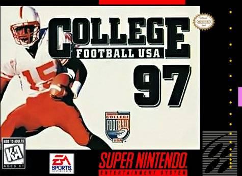 College Football '97 USA SNES Super Nintendo