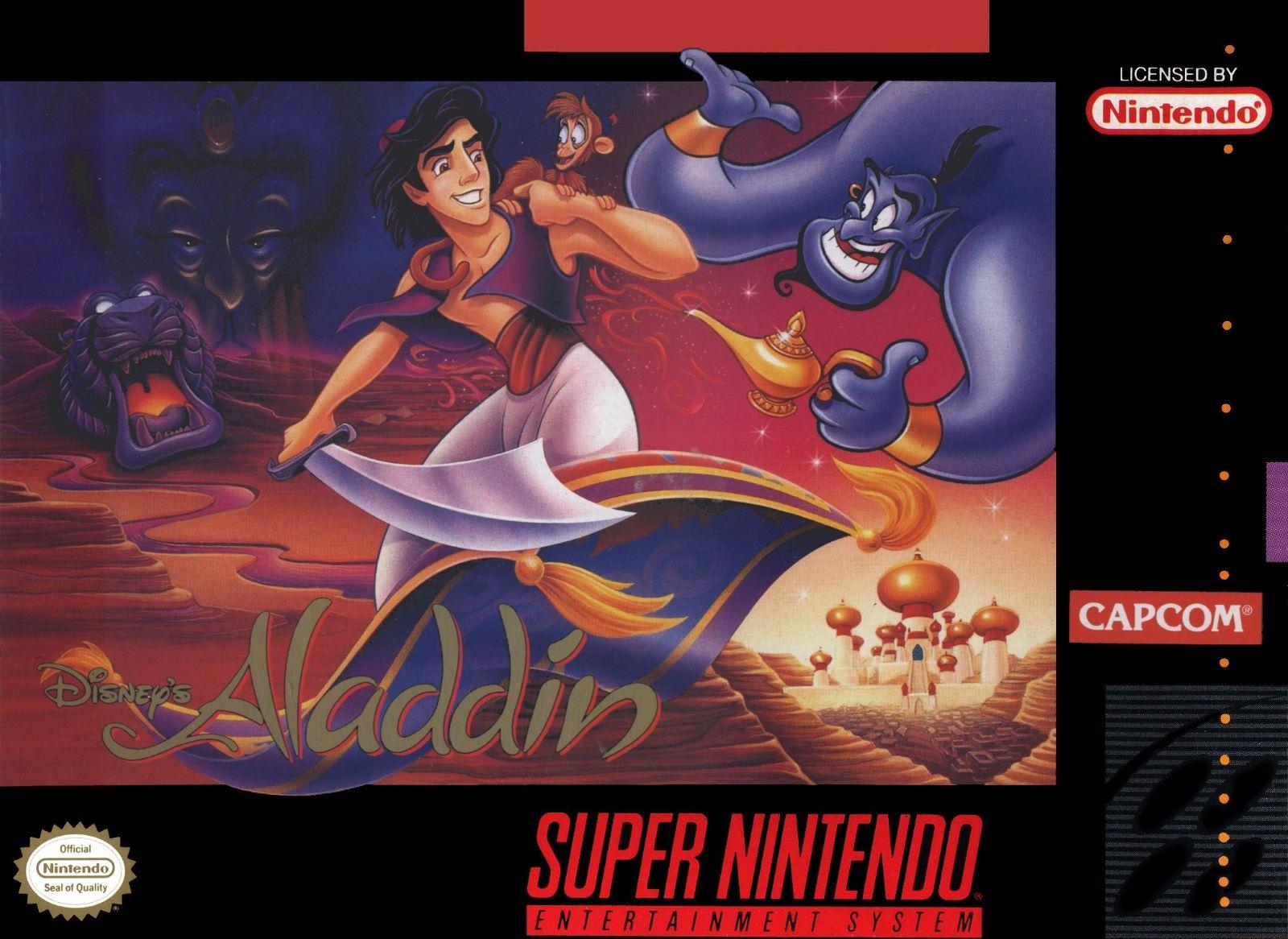 Disney's Aladdin SNES Super Nintendo