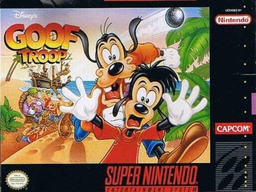 goof troop snes super nintendo