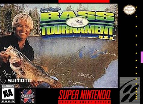 Jimmy Houston's Bass Tournament USA SNES Super Nintendo
