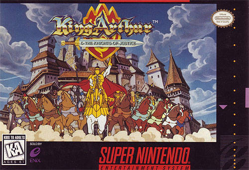 King Arthur And The Knights Of Justice Snes Super Nintendo