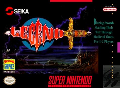 Legend Snes Super Nintendo