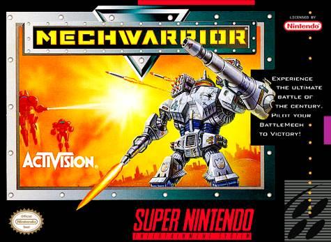 Image result for mechwarrior snes