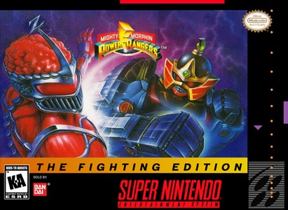 Mighty Morphin Power Rangers Fighting Edition Snes Super