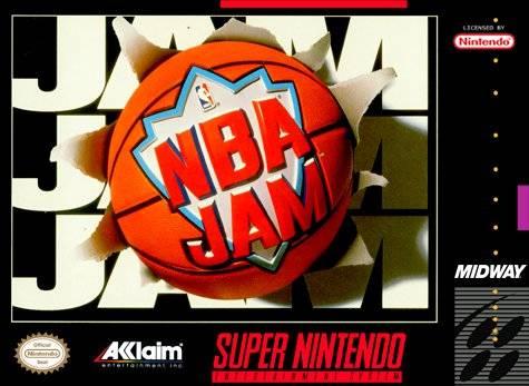 NBA Jam SNES Super Nintendo