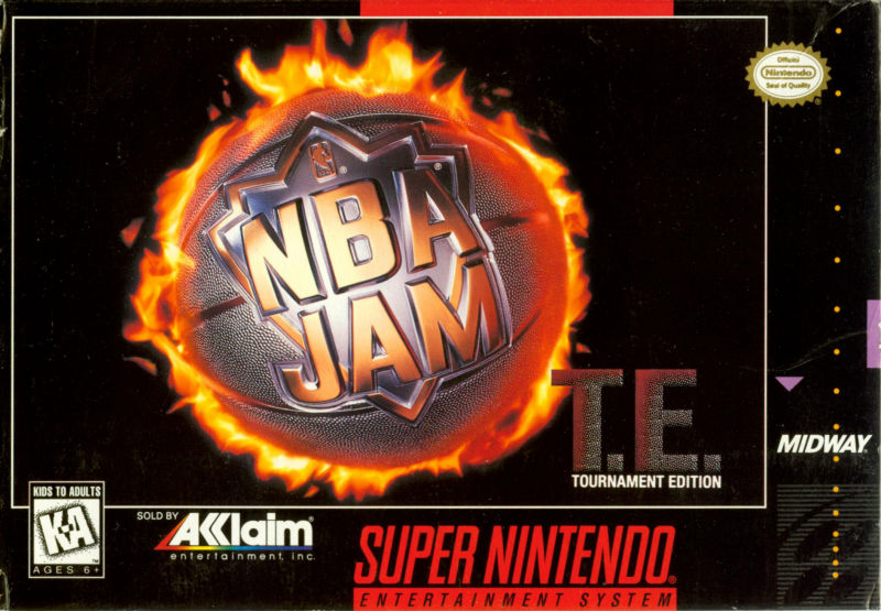 Nba Jam Tournament Edition Snes Super Nintendo