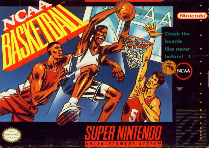 NCAA Basketball SNES Super Nintendo